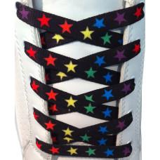 Cordones - 10mm Estrellas de colores