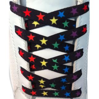 Cordones de estrellas de colores