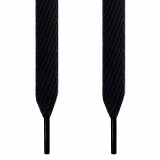 Cordones extra anchos negros