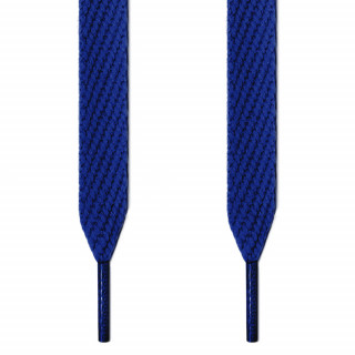 Cordones extra anchos azules