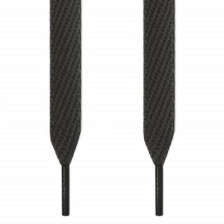Cordones extra anchos gris oscuro