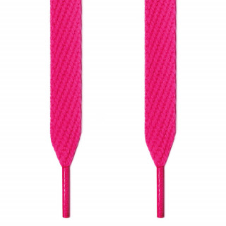 Cordones extra anchos rosa fucsia