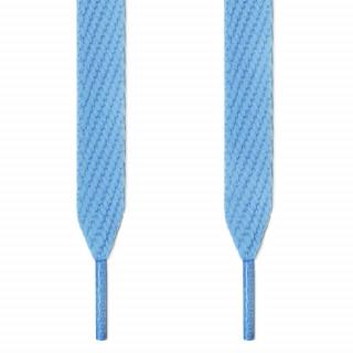 Cordones extra anchos azul claro