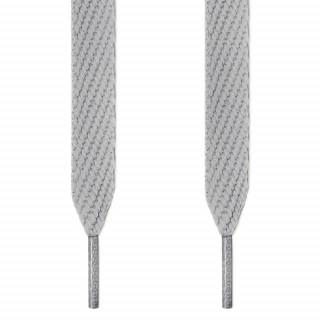 Cordones extra anchos gris claro