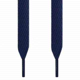 Cordones extra anchos azul marino