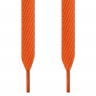 Cordones extra anchos naranjas