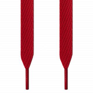 Cordones extra anchos rojos