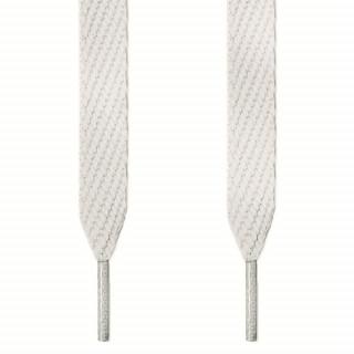 Cordones extra anchos blancos