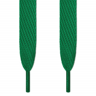 Cordones súper anchos verdes