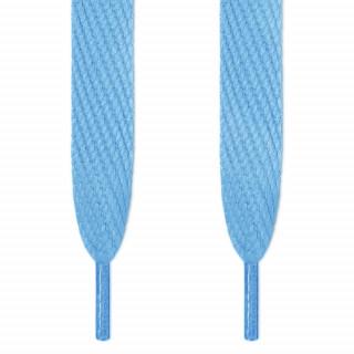 Cordones súper anchos azul claro