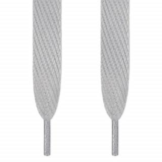 Cordones súper anchos gris claro