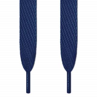 Cordones súper anchos azul marino