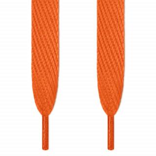 Cordones súper anchos naranjas