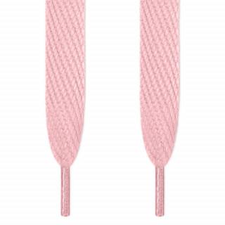 Cordones súper anchos rosas