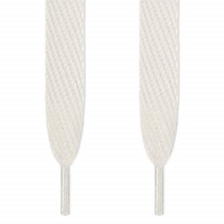 Cordones súper anchos blancos