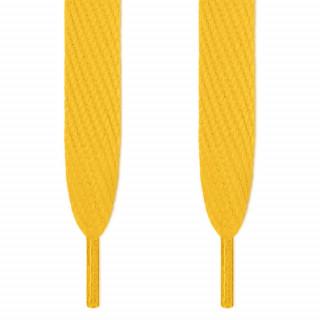 Cordones súper anchos amarillos