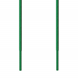 Cordones redondos finos verdes