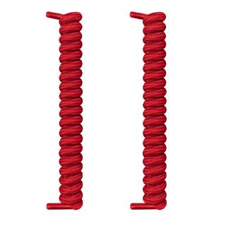 Cordones rojos en espiral