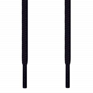 Cordones redondos negros