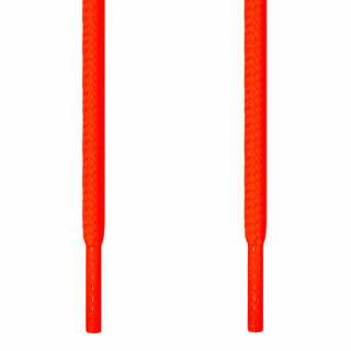 Cordones redondos naranja neón