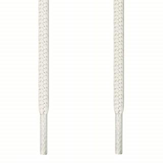Cordones redondos blancos