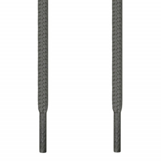 Cordones redondos gris oscuro