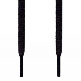 Cordones ovalados negros