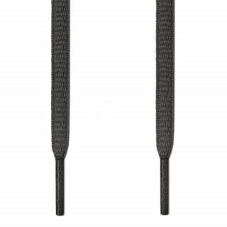 Cordones ovalados gris oscuro
