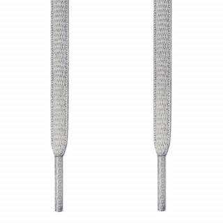 Cordones ovalados gris claro