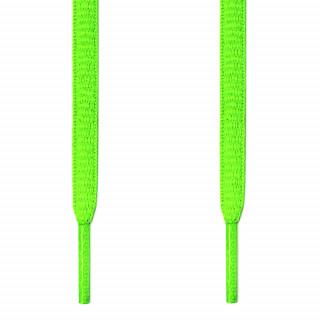 Cordones ovalados verde neón