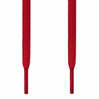 Cordones ovalados rojos