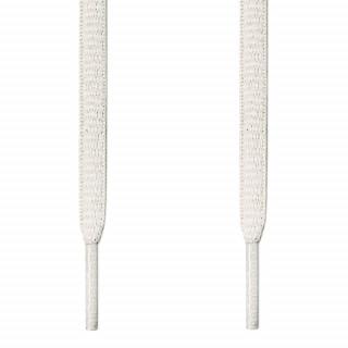 Cordones ovalados blancos