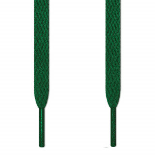 Cordones planos verdes