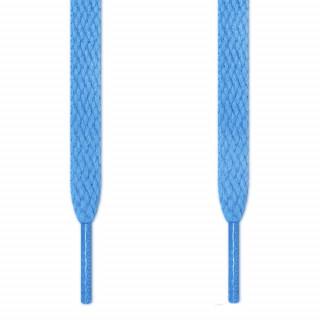 Cordones planos azul claro
