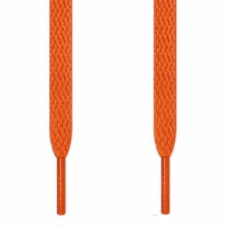 Cordones planos naranjas