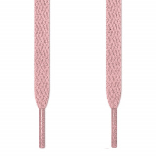 Cordones planos rosa fucsia